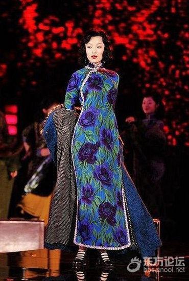 海派文化里旗袍的花样年华