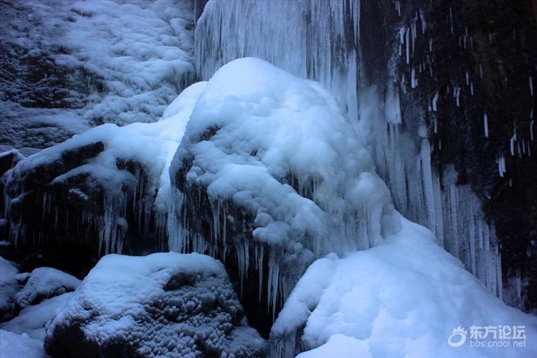 瀑布结成冰,蔚为壮观!四明山中四个冰瀑景观,你去看过吗?