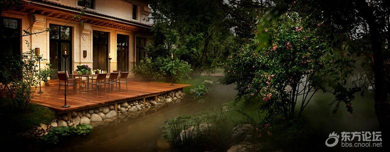 龙湖天字系豪宅久负盛名的两张金名片:景观和物业