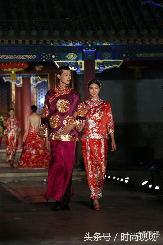 仪态万千的中国嫁衣龙凤褂裙 细节让你美到飞起来!